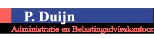 P Duijn administratiekantoor